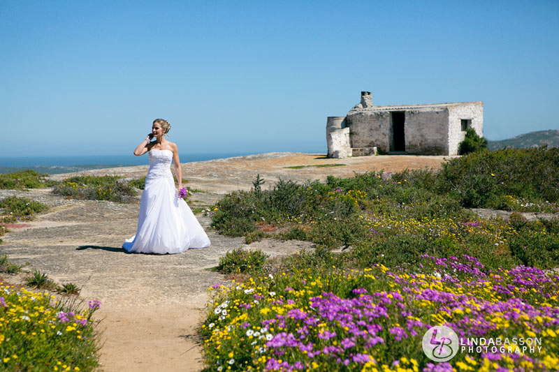 Bridal shoot: West Coast National Park