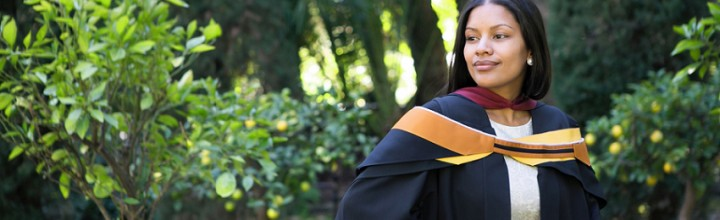 Portraits: Carmelita's Graduation – Stellenbosch