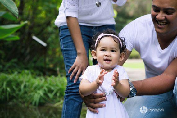 Family: Wendy, Dane & Violet -Stellenbosch